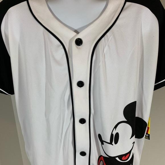 Disney Other - NWT Mickey 28 Baseball XL Jersey 90th Anniversary